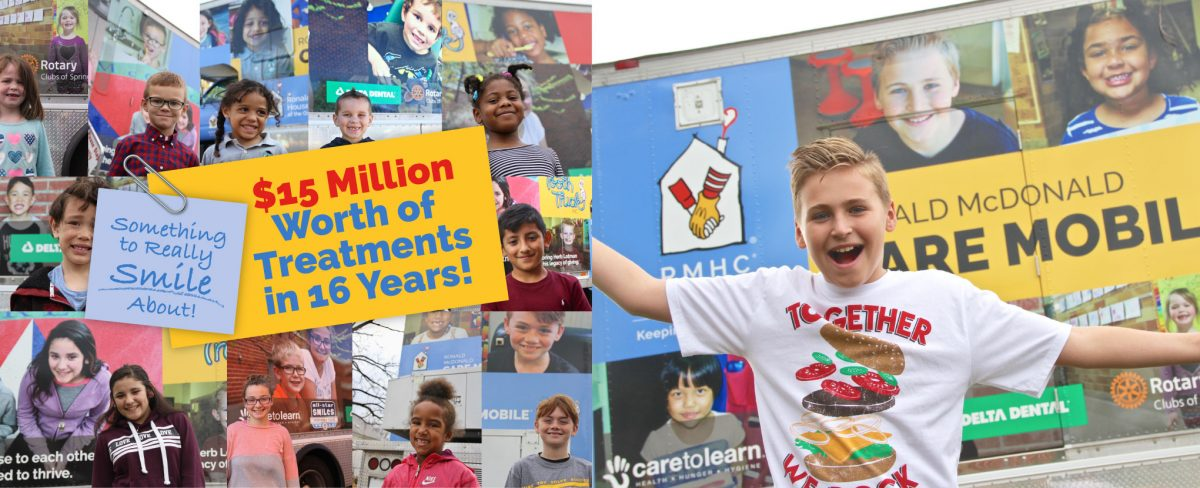 Giving – Tooth Truck – RMHC