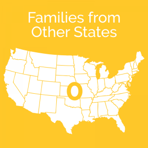 Families from Other States: 0
