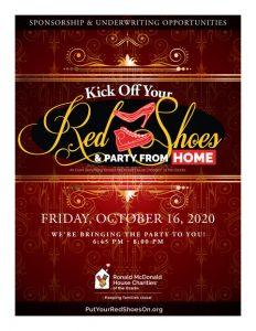 Red Shoe Gala 2020 sponsorship brochure thumbnail